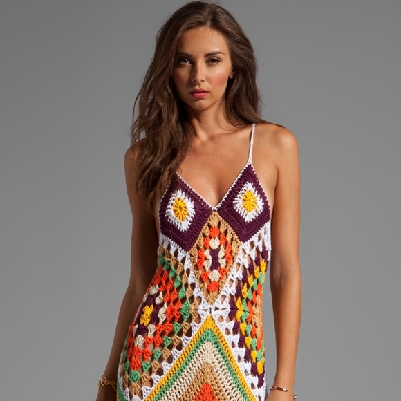 5157a0addf Indah Dresses   Skirts - Indah Syra crochet maxi dress